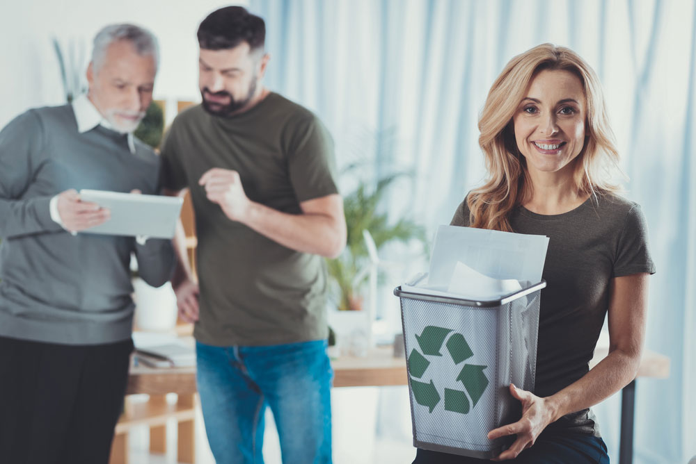reducing waste workplace